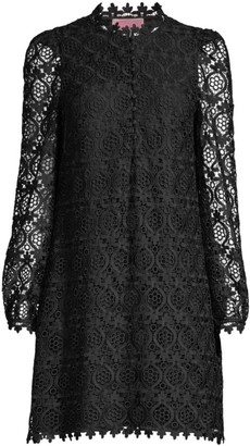 Kate Spade Scallop Lace Mini Dress