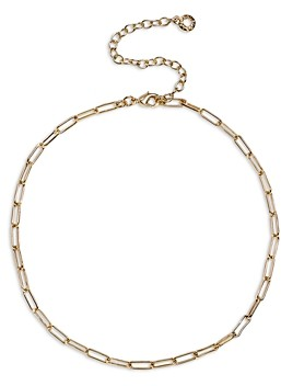 BaubleBar Hera Link Choker Necklace, 13-16
