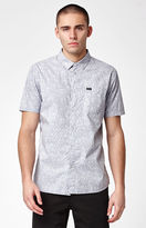 RVCA Sea And Destroy Short Sleeve Button Up Shirt