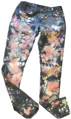 Maison Scotch Multicolour Cotton - elasthane Jeans for Women
