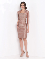 Social Occasions by Mon Cheri Social Occasions - Two-Piece Embellished Sweetheart Dress 115856