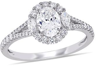 Diamond Select Cuts 14K White Gold 1.13 Ct. Tw. Diamond Ring
