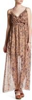 Soprano Woven Print Maxi Dress