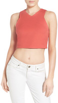 KENDALL + KYLIE Kendall & Kylie Stretch Knit Crop Top