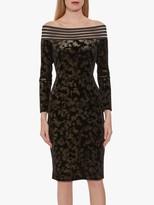 Gina Bacconi Jonina Velvet Dress
