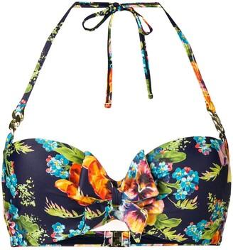Marlies Dekkers Jardin des Fleurs plunge balcony bikini top