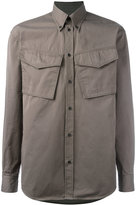 DSQUARED2 crinkled flap pocket jacket - men - Cotton - 48