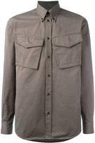 DSQUARED2 crinkled flap pocket jacket