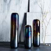 west elm Oblong Opalescent Vases
