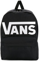 Vans logo shell backpack