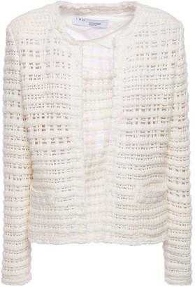 IRO Startle Frayed Open-knit Jacket