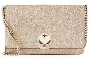Kate Spade Nicola Twistlock Shimmer Wallet-On-Chain