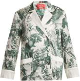 F.R.S - FOR RESTLESS SLEEPERS Philotes palm-print cotton and silk-blend jacket