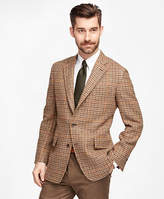 Brooks Brothers Own Make Harris Tweed Check Sport Coat