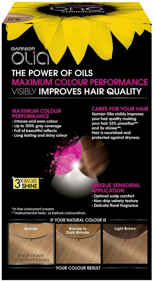 Garnier Olia Permanent Hair Dye (Various Shades) - 8.0 Blonde