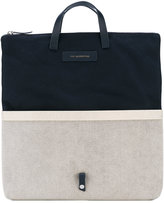 WANT Les Essentiels Peretola foldable tote - men - Cotton/Leather/metal - One Size