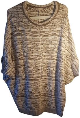 Maje White Wool Knitwear for Women