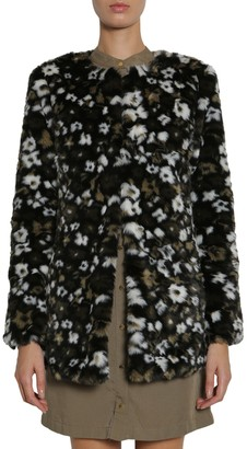 Michael Kors Michael By michael by floral printed faux-fur