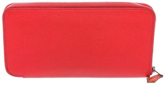 Hermes Pink Epsom Leather Silk'in Classic Wallet