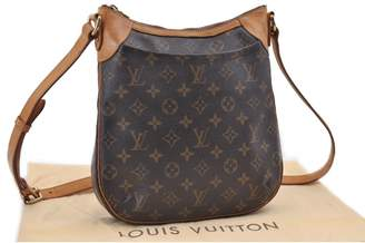 Louis Vuitton Odeon Brown Cloth Handbag