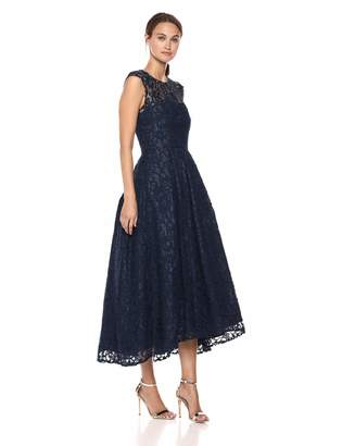 Carmen Marc Valvo Women's LACE Gown