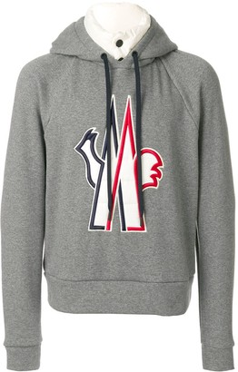 Moncler padded under layer hoodie