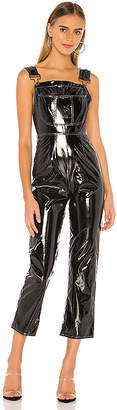 superdown Molly Faux Leather Overall