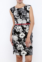 Mystic Floral Sheath Dress