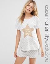 Asos Shine Like The Stars Pajama Set