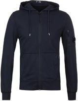 Cp Company Navy Watch Viewer Zip Through Sweatshirt