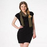 Petit Bateau Womens lurex mariniere scarf