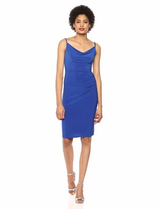 Laundry by Shelli Segal Women's Ruched Side Dress