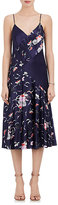 Prabal Gurung Women's Floral Silk Charmeuse Slipdress