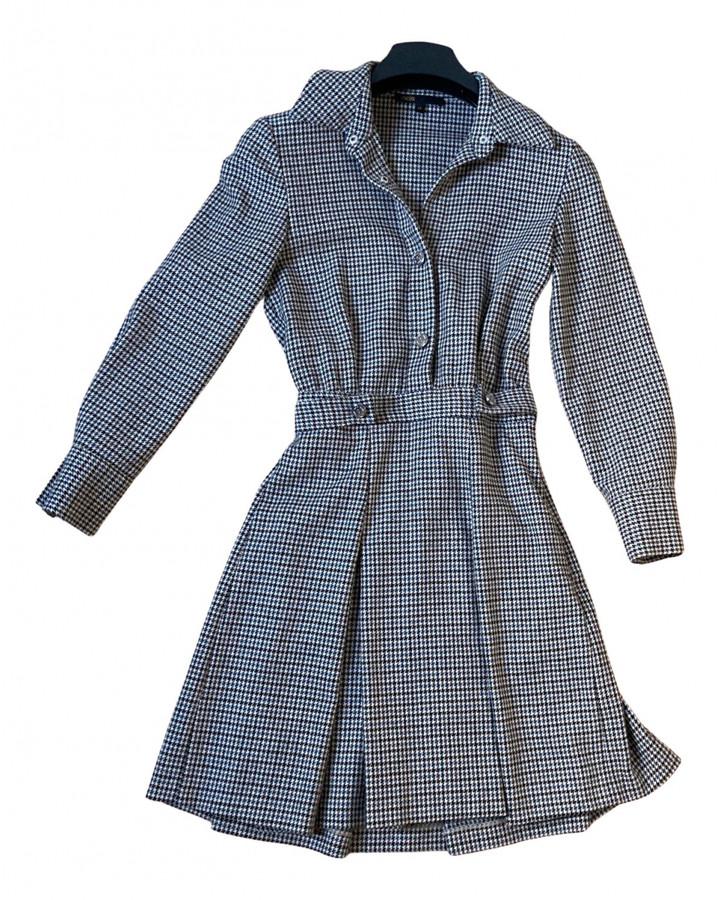 Maje Fall Winter 2019 Multicolour Wool Dresses