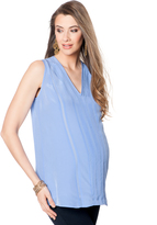 A Pea in the Pod Soft Top Maternity Blouse