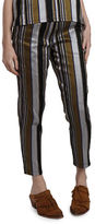 Nikki Chasin Rainer Silk Track Pants