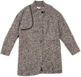 Gat Rimon Black Wool Coat for Women