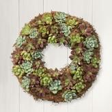 Williams-Sonoma Williams Sonoma Succulent Wreath