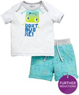 Ladybird Baby Boys Bug Tee & Short Set
