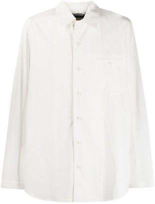 UMA WANG Oversized Crush Style Shirt