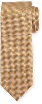 Canali Silk Basketweave Tie, Rust Brown