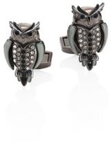 Tateossian Mechanimals Owl Design Cufflinks