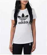 adidas Women's Originals Trefoil T-Shirt, White