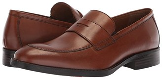 Johnston & Murphy Alcott Penny (Tan Calfskin) Men's Slip-on Dress Shoes