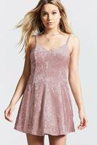 Forever 21 Crushed Velvet Cami Dress