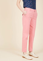 ModCloth Ease of Versatility Pants in Carnation in XXS