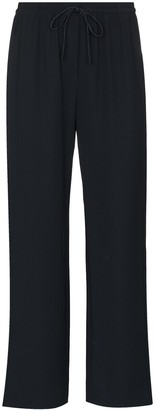 Emporio Armani Elasticated Cropped Trousers