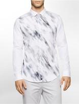 Calvin Klein One Slim Fit Blurred Paint Shirt