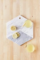 Urban Outfitters Marble Hexagon Cutting Board
