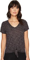 Threads 4 Thought Women's Arabella Short Sleeve Tie-Front Tee